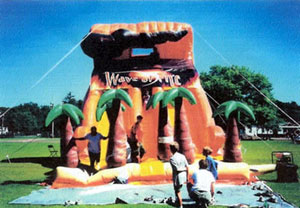 Wave of Fire Giant Slide Rental